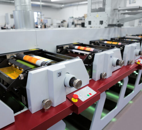 flexo printig machine